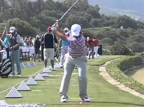 golf swing slow motion face on francesco molinari golf swing in high speed slow