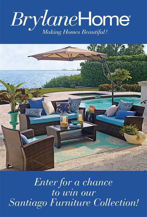 Furniture Sweepstakes Giveaway - brylane home santiago furniture collection giveaway