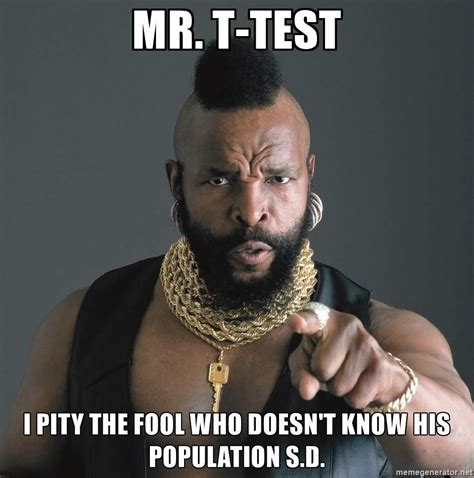 test  pity  fool  doesnt   population sd   fool teaching tools