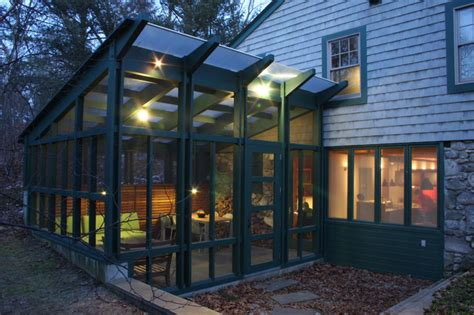 Screened In Outdoor Rooms by Timber Framed Screened Porch