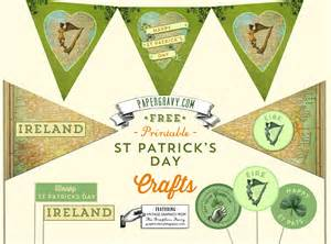vintage printables st s day flags buntings stickers the graphics