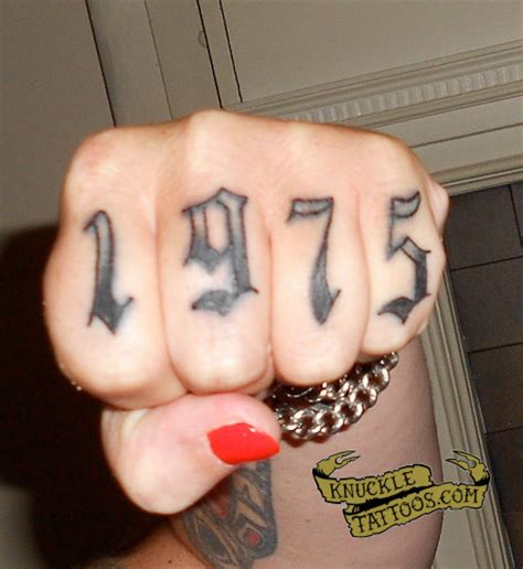 finger tattoo after 5 years knuckletattoos com all knuckle tattoos all the time