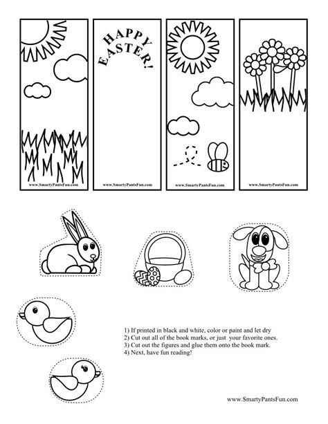 printable easter bookmarks to colour printable bookmarks to color print printable bookmarks