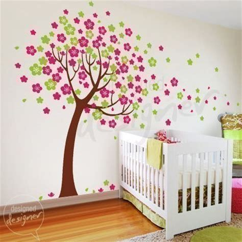 wall stickers murals trailing cherry blossom tree wall sticker mural