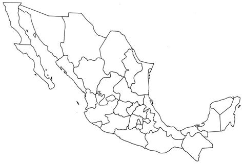 outline map of usa and mexico 4 best images of mexico map outline printable printable