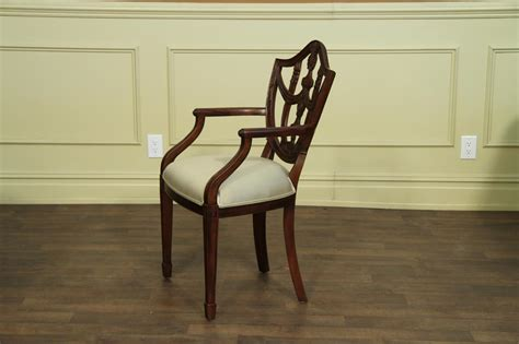 shield back dining room chairs solid mahogany shield back dining room chairs