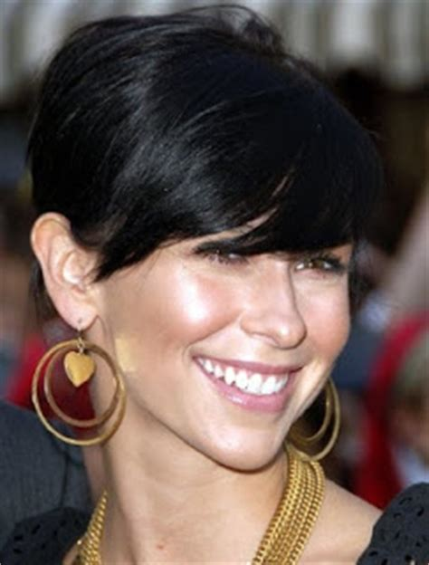 short hair big forehead exposed black hair corte de pelo seg 250 n tu forma de cara archives mujer chic