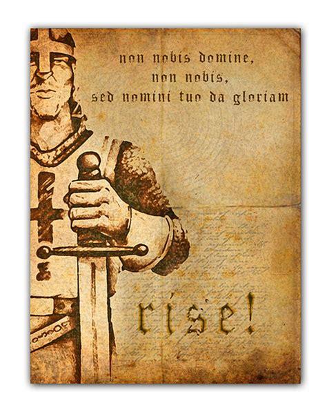 non nobis domine non nobis sed nomini tuo da gloriam