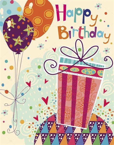 imagenes de cumpleaños brillantes feliz cumplea 241 os hermosa tarjeta de felicitaci 243 n con