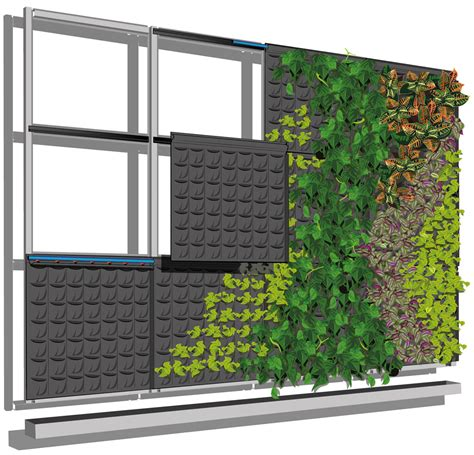 imagenes de jardines verticales caseros jard 237 n vertical fytotextile 174 terapia urbana