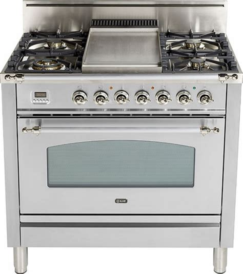 gas range with warmer drawer upn90fdvggix ilve nostalgie collection 36 quot gas range with