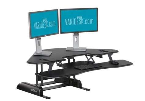 6 Best Adjustable Standing Desks Reviewed For 2017 Adjustable Standing Sitting Desk