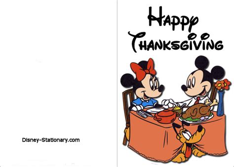 printable disney thanksgiving cards disney thanksgiving clipart clipart panda free clipart
