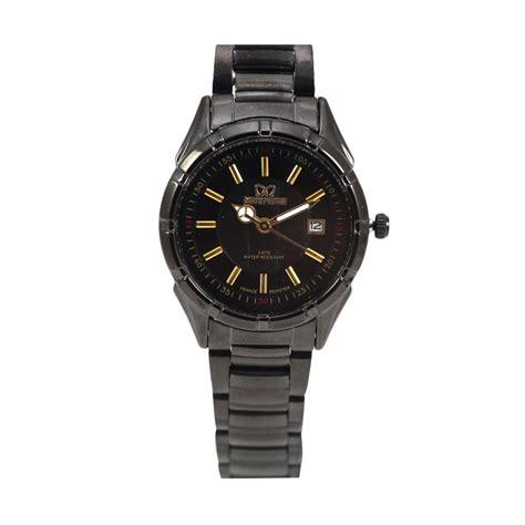 Jam Tangan Original Mirage harga mirage jam tangan pria original 8154 brp l black