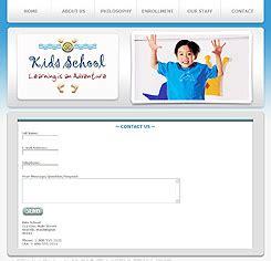 Pre School Website Template 237 Pre School Education Template Preschool Template Playgroup Website Templates