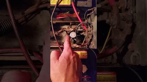 ezgo solenoid wiring  dummies youtube