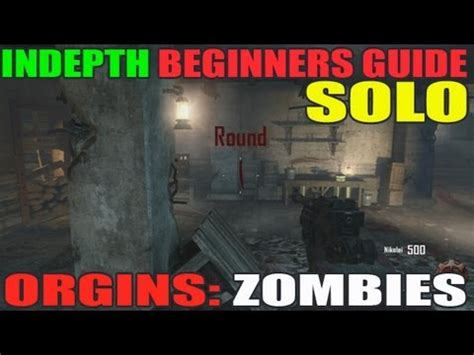 zombie solo tutorial origins indepth noob guide for beginners solo strategy
