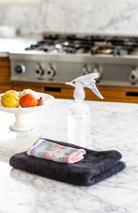 What To Clean Marble Countertops With by How To Clean Marble Countertops Cleaning Lessons From The Kitchn The Kitchn