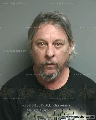 Macomb County Michigan Arrest Records Michael Smith Mugshot Michael Smith