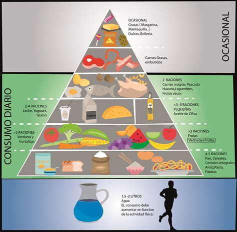 piramide de alimentos la pir 225 mide de la alimentaci 243 n