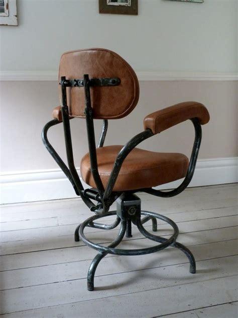 Photo Studio Chair by Vintage Industrial Studio Desk Chair 1950 Ormston