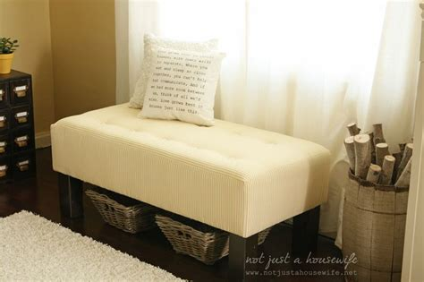 diy upholstered bench diy upholstered bench diy ideas for the home