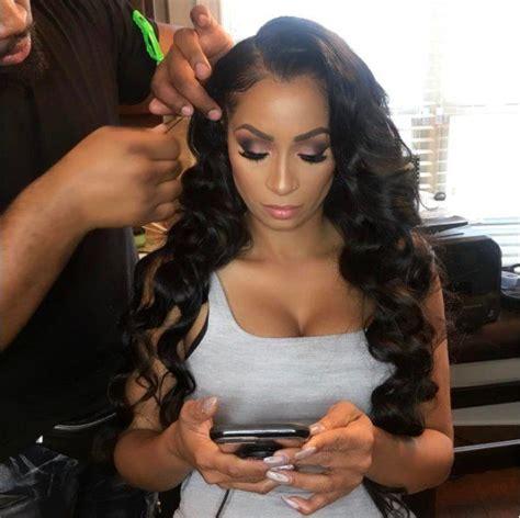 ladies hair style on love and hip hop show love hip hop atlanta reunion hair karlie redd