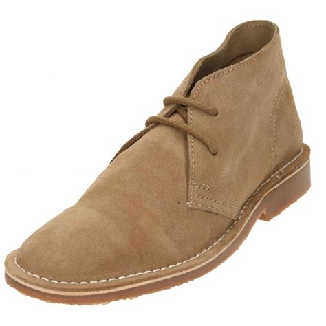 mens leather lace up ankle boots catesby mens soft real suede lace up desert leather ankle
