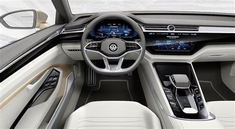 Vw C Coupe Gte Concept Interior Dash The Fast Lane Car