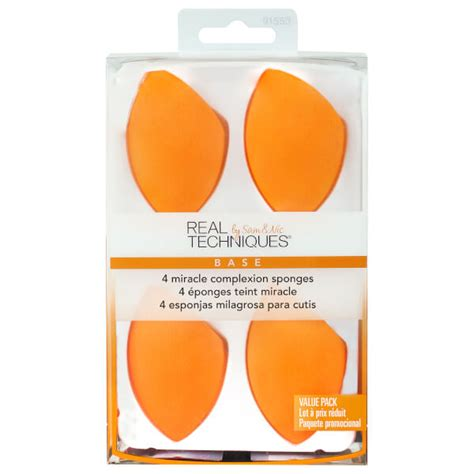 Real Techniques Miracle Complexion Sponge real techniques 4 miracle complexion sponges free