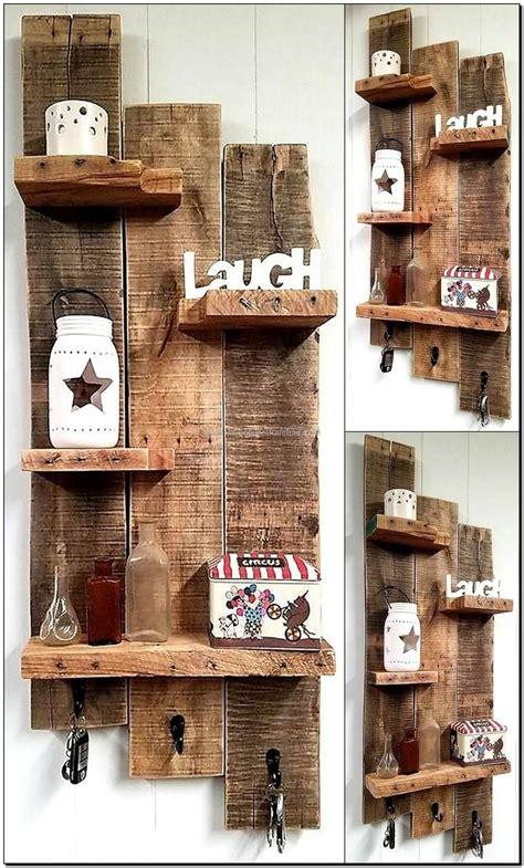 etagere bauen 100 ideas for wood pallet recycling wood pallet shelves