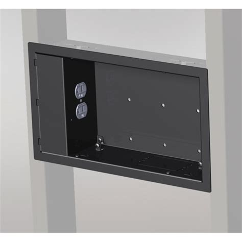 chief in wall storage box pac521 series in wall box with without power outlet