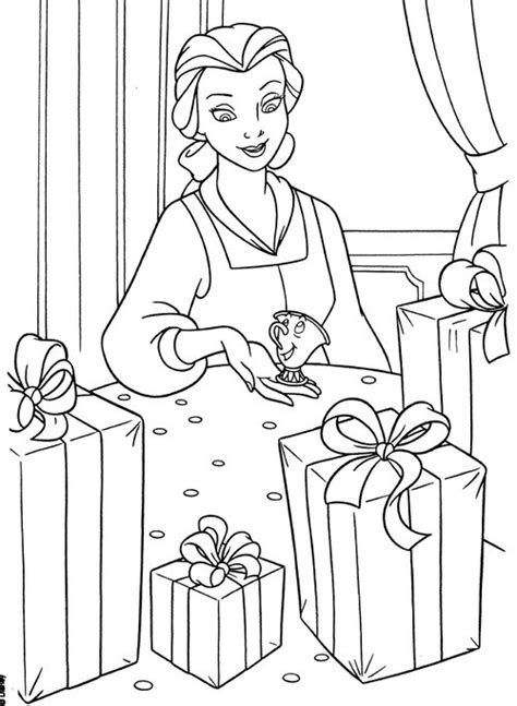 belle christmas coloring pages disney princesses belle coloring pages gt gt disney coloring