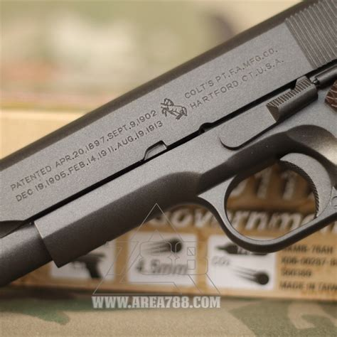 Airgun Kwc Rcf Jericho 4 5mm kwc rcf 1911 gbb co2 4 5mm kmb 76 area 788 menjual