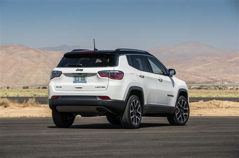 jeep compass sport white jeep compass 2018 motor trend suv of the year contender