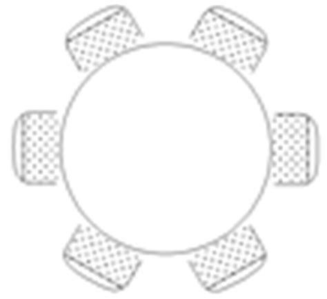 tavolo tondo dwg tavoli rotondi 2d