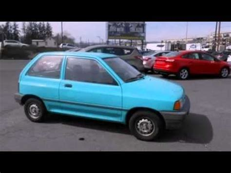 how to fix cars 1992 ford festiva transmission control 1992 ford festiva problems online manuals and repair information