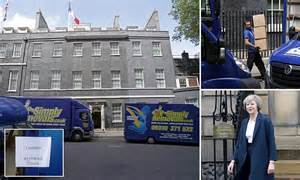 19 may 2016 news archive daily mail online five removal vans haul off david cameron belongings as