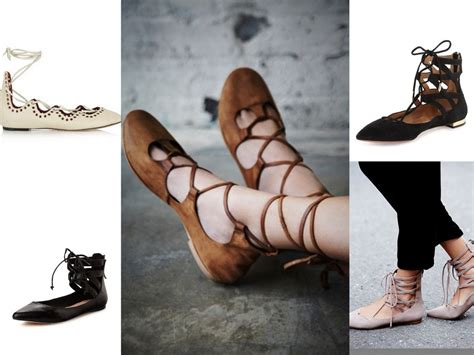 february wish list lace up ballet flats