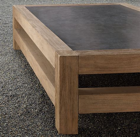 concrete top coffee table concrete coffee table on