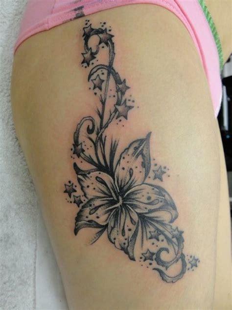 derrick rose leg tattoo best 25 flower thigh tattoos ideas on side of