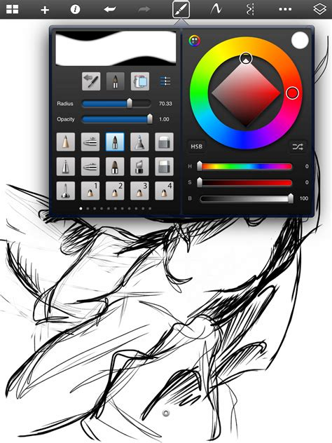 sketchbook pro mobile arttech review sketchbook pro review for the