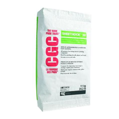 cgc cgc sheetrock 20 setting type joint compound 11 kg