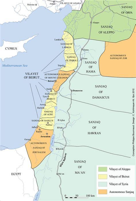 ottoman palestine atlas of jordan the impact of ottoman reforms presses