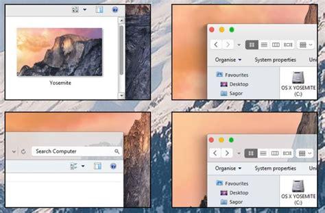 os themes for windows 8 1 os x yosemite theme for windows 7 8 1