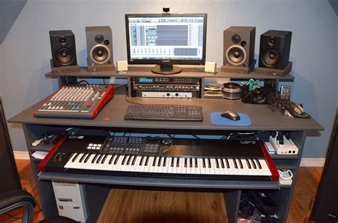 Small Studio Desk Upstairs Studio Build Pics Page 6 Home Recording Forums