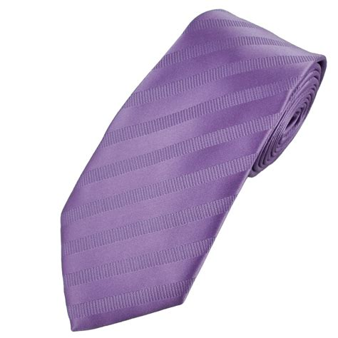 lilac rib striped s tie from ties planet uk