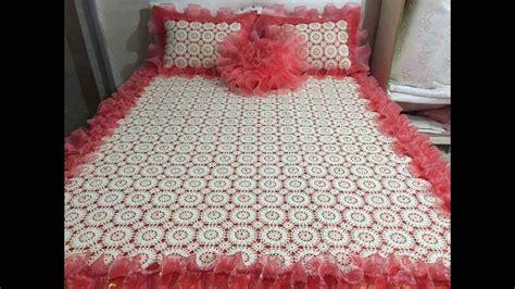 imagenes cubrecama tejidas a crochet como haces estas colchas de camas con lanas y hilos todo