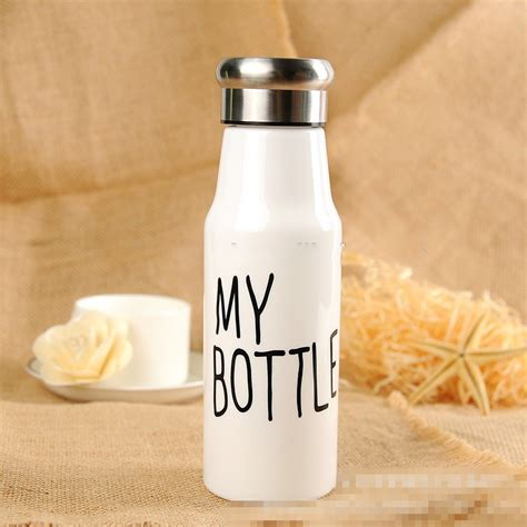 Botol Minum botol minum plastik my bottle 500ml sm 8456 white