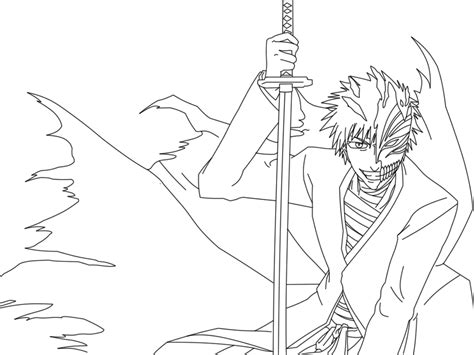 Ichigo Coloring Pages ichigo coloring pages